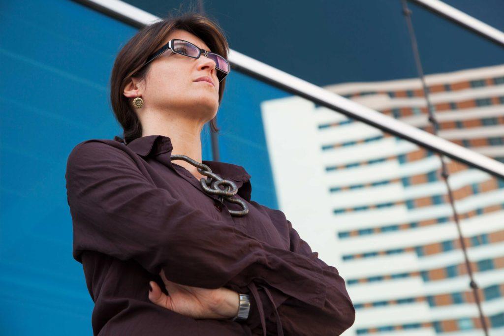 Photo of a Strong Woman Executive